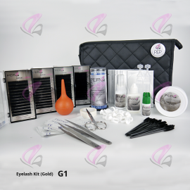Eyelash Training Kit (Gold) - Mink Lashes