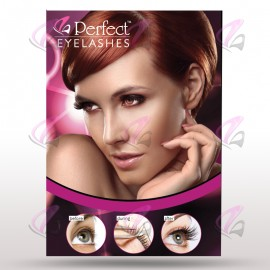 Perfect Eyelashes Wall Poster A2