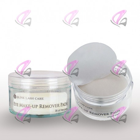 Eye Makeup Cleanser & Protein Remover Pads | Eyelash Extensions