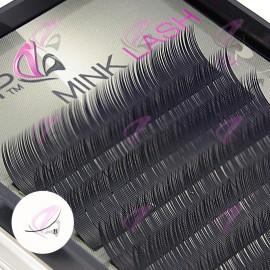 Mink Lash (PEP) B -curl (Case)