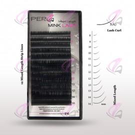 Mixed Mink Lash (PEP) Chart (Case)